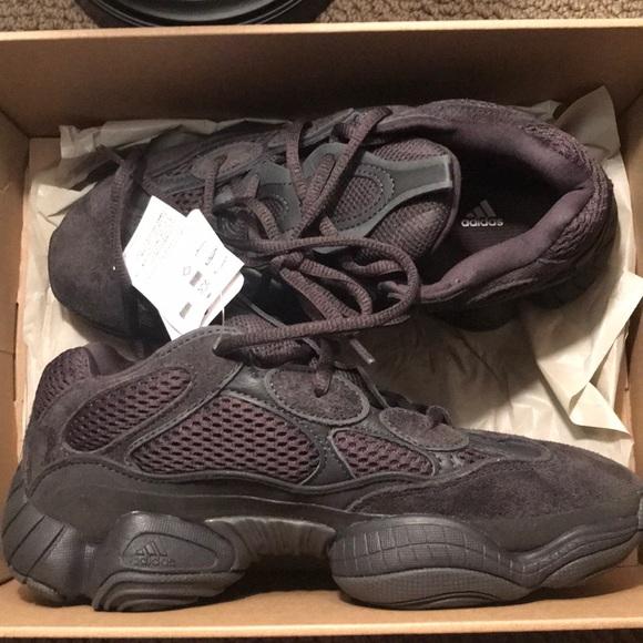 6f9ddbc4fe9a50 Yeezy 500 utility black size 6